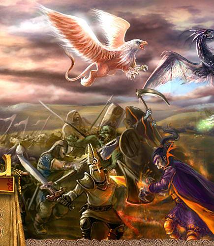 Онлайн игра Герои войны и денег увидела свет в марте 2007 года.